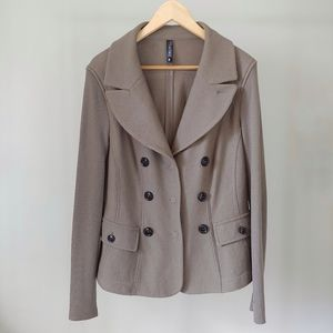 Marc Cain Wool Fitted Blazer Size 14